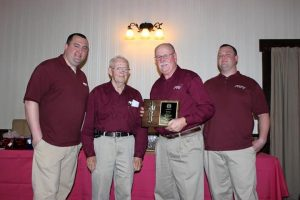 Dean Berry Fire Fighter of the year