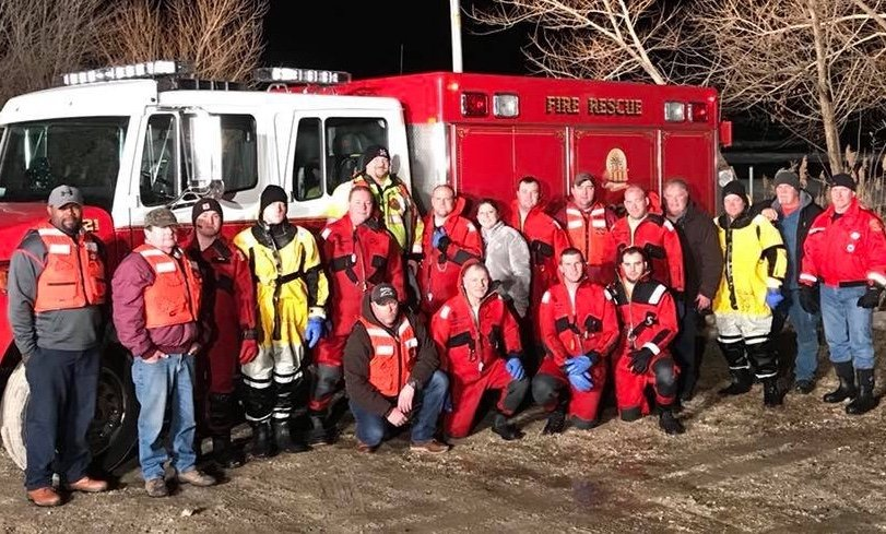 Ice Rescue Training With Station 12 & 39
