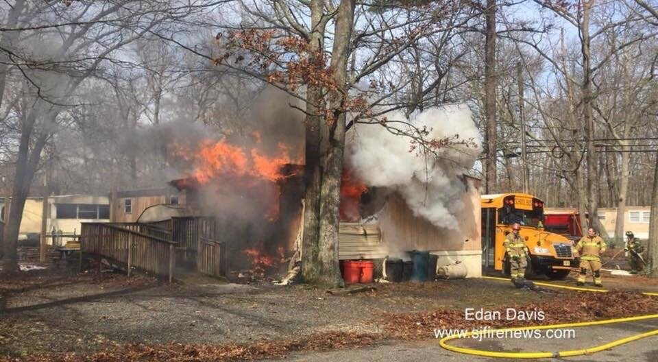 Working Fire In Laurel Lake