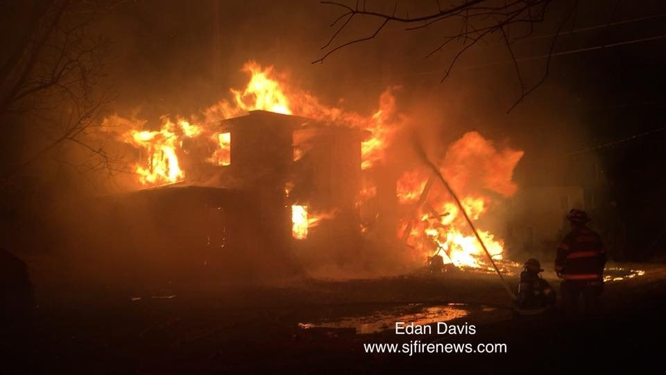 2nd Alarm Fire in Lawrence Township Cedarville