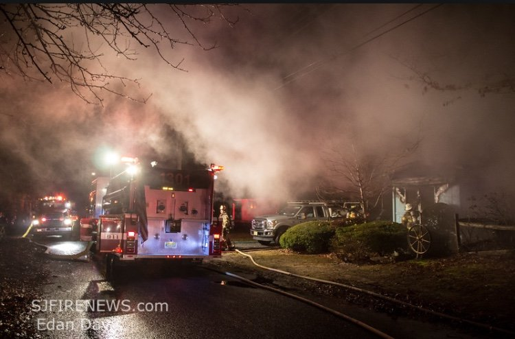 Working Dwelling Fire In Laurel Lake